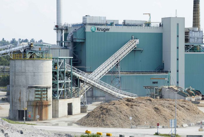 Renewable energy project - Kruger Inc